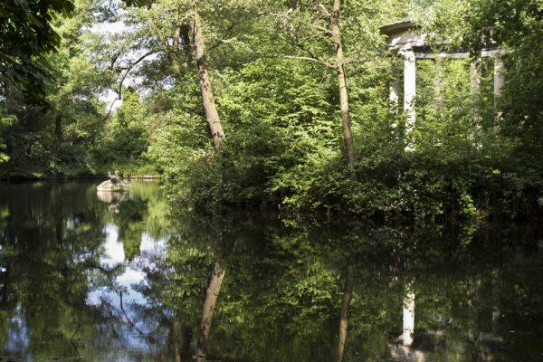 Abtnaundorfer Park Teich